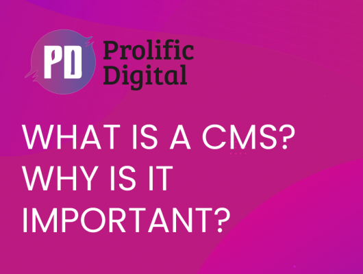 What is a CMS (Content Management System) Why It Important