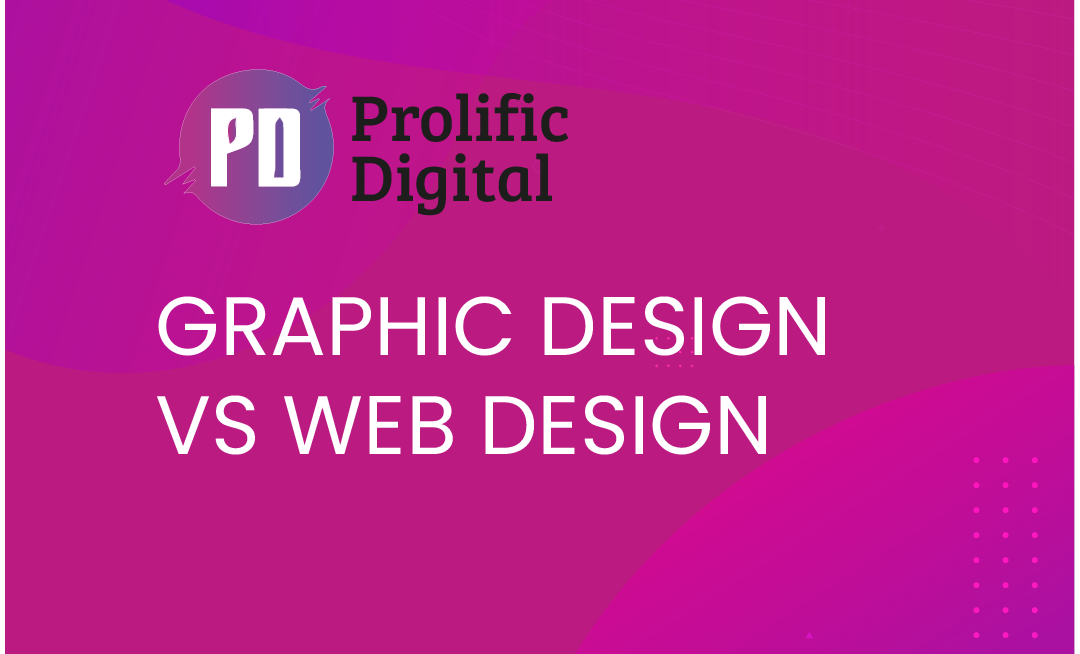 Graphic design vs Web design, What's the Difference